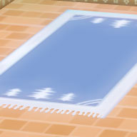 青い木柄の絨毯.jpg